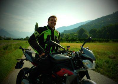 Ludo en moto